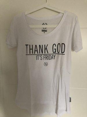 About You Camiseta blanco-negro