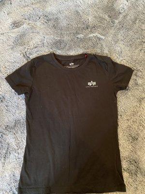 Alpha Industries Camiseta Básico negro