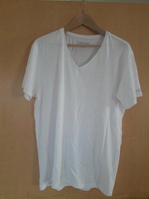 Bruno Banani T-shirt biały-jasnoszary