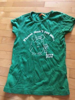 Fishbone T-shirt verde