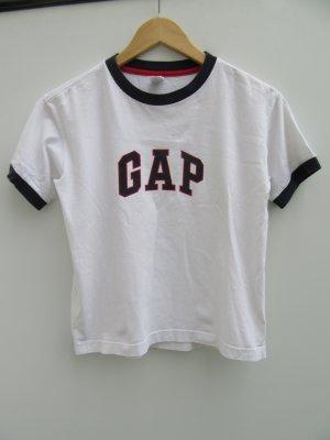 T-Shirt GAP weiß Vintage Retro Gr. M cropped