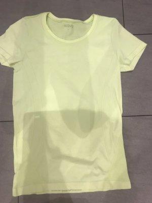 T-Shirt gelb Gr S Active Tchibo