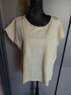 T-Shirt gelb Karo Opus