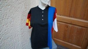 #T-Shirt, Gr.36/38, #schwarz-bunt, #Husky, #Baumwolle, #hochwertig