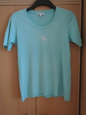T-Shirt, Gr.36/S, Kurzarm, mint