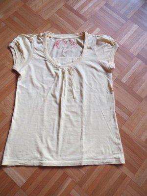 T-Shirt, Gr.42/M, gelb, stretch