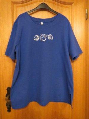 Atelier Goldner Schnitt T-shirt bleu