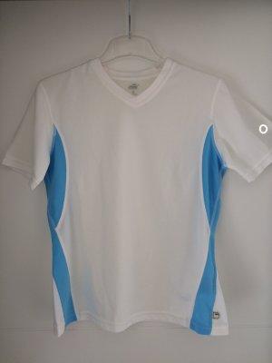 T-Shirt Gr. S (36/38), weiß/blau *NEU* Crane Sports