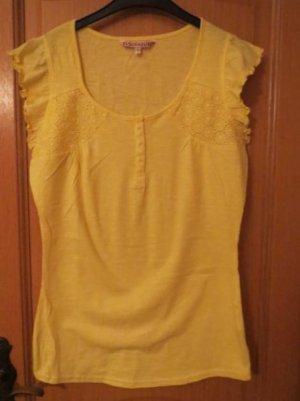 T-Shirt, Gr.S/M, gelb, neu-nicht getragen