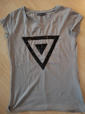 T-Shirt gr.S-M, neu 36-38 in grau