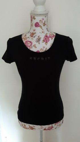 T-Shirt, Gr. S, schwarz, neu, Esprit