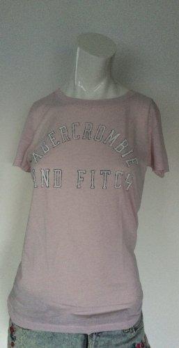 Abercrombie & Fitch T-shirt rosa pallido