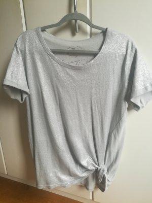 T-Shirt grau mit Glitzer von Herrlicher