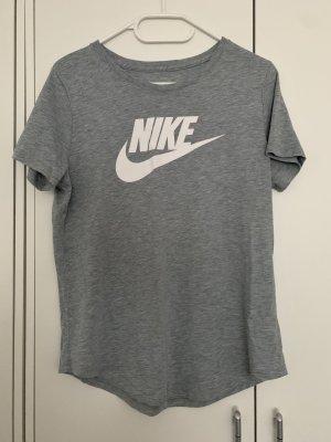 T-Shirt grau weiß Nike Sport Shirt Details 38/M neu Damen Fashion