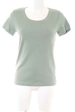 T-Shirt graugrün Casual-Look