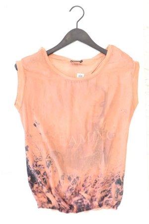 T-Shirt Größe M Kurzarm creme aus Baumwolle