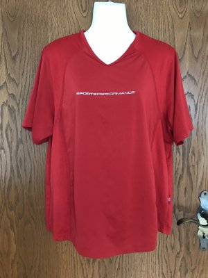 TCM Sports Shirt dark red