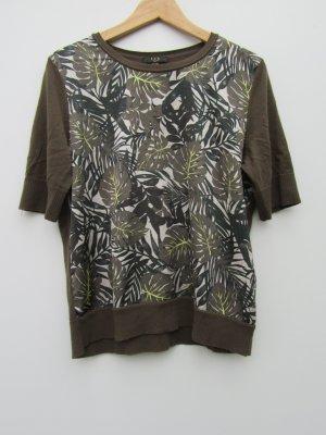 T-Shirt grün Damen 123 Paris Gr. 38