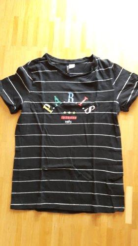 T-shirt H+M - Paris- Divided - 36