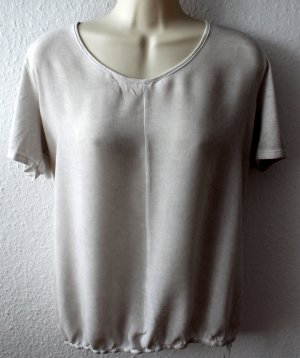 T-Shirt, hellgrau