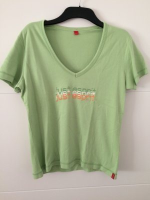 T-Shirt hellgrün Gr. L *NEU* Esprit