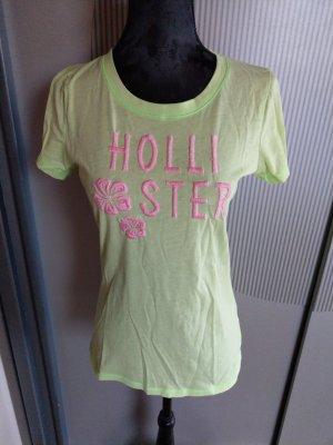 T-Shirt hellgrün Hollister