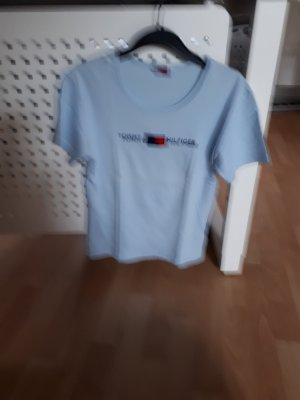 T-Shirt Hilfiger hellbau