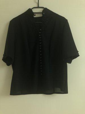 Woven Twin Set black