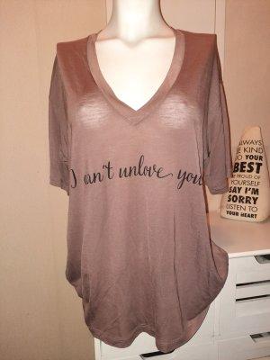"T-Shirt ""I can't unlove you"""
