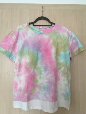 T-Shirt im Batiklook