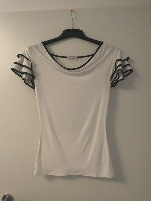 Orsay Waterval shirt wit-zwart
