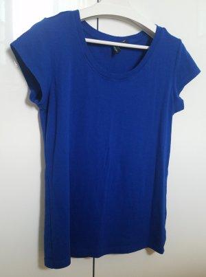 T-Shirt in knalligem Blau (L) von Cynthia Rowley