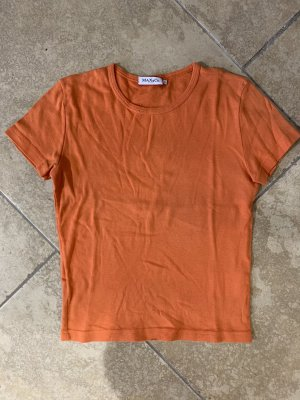 T-Shirt in Orange con Max&Co