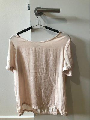 T Shirt in Satin-Optik