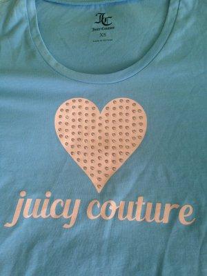 Juicy Couture T-shirt bleu clair-rosé