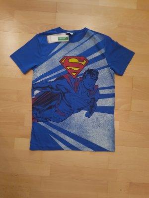 United Colors of Benetton T-Shirt blue cotton