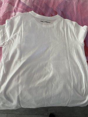 Karl Lagerfeld T-shirt bianco-nero