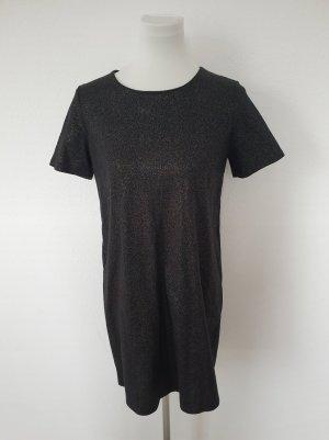 Esmara Sweat Dress black-silver-colored