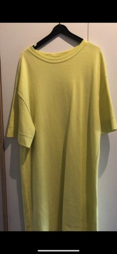 Zara Shirt Dress yellow-neon yellow