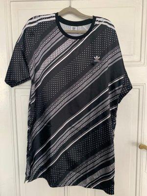 Adidas Robe t-shirt noir-blanc