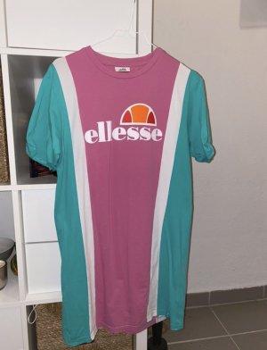 T-shirt Kleid/ ellesse/ rosa/weiß/ türkis/ XS