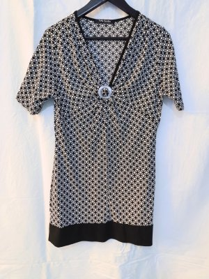 T-Shirt Kleid Geometrisch