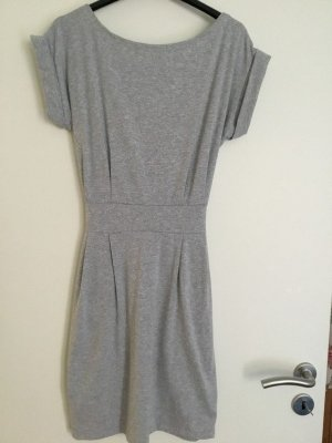 0039 Italy Shirt Dress silver-colored cotton