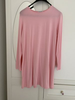 Basic for everyday Shirt Dress pink viscose