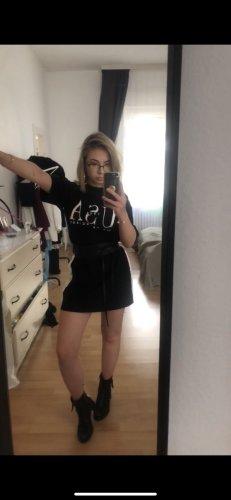 T Shirt Kleid mit Aufdruck