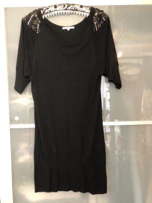 T-Shirt Kleid mit breitem Bund