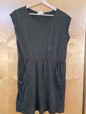 T-Shirt Kleid mit Taschen und Gummibund