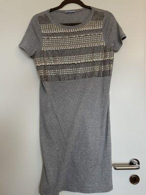 T-Shirt-Kleid mit tollen Details Gr. S Strennese Blu