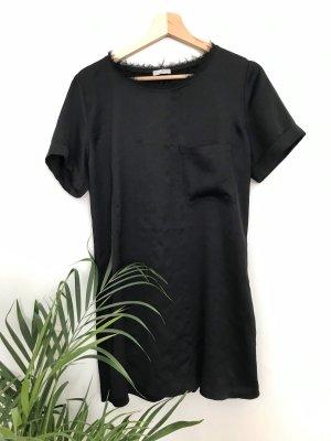 T-shirt Kleid / Satin