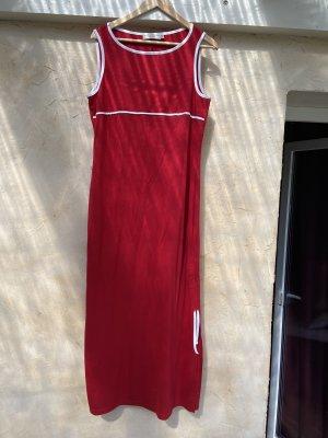 Caren Pfleger Sukienka z dżerseju czerwony-ciemnoczerwony Bawełna